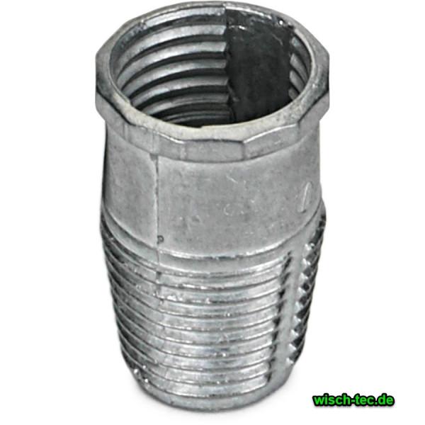 Metallgewinde für Besen