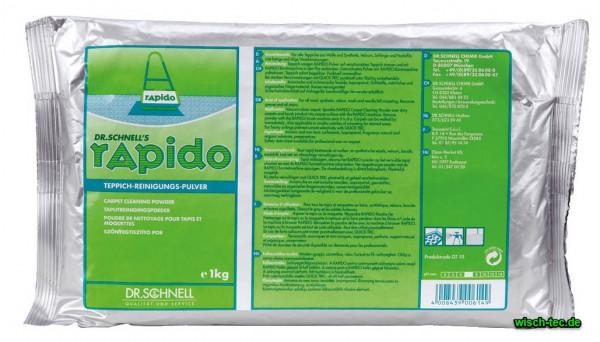 Teppichreinigungspulver Rapido