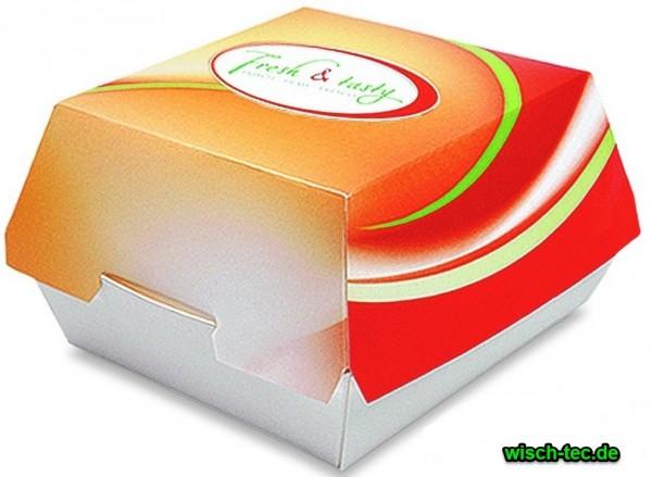 Hamburger-Box F&T 135x125x75 mm 400 Stück