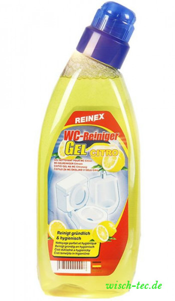 WC Reiniger Gel Citro Reinex 750 ml