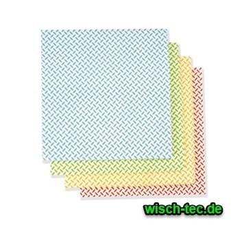 Universaltuch mit Noppen grün 38x38 cm 10er Pack