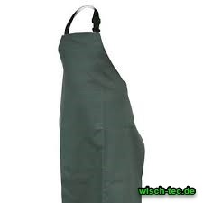 Schürze grün Ledolin L-90 PU 130 cm