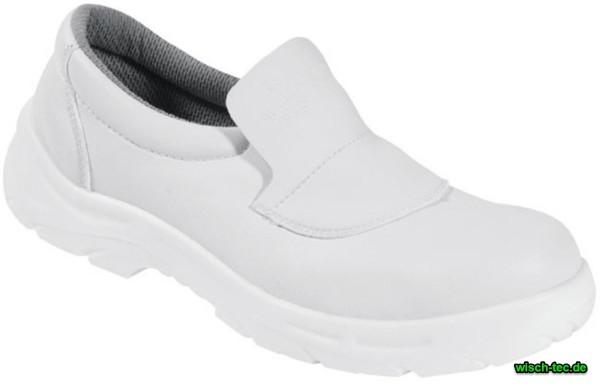 Schuhe weiss flach Hygiene S2