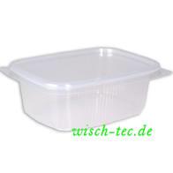 Verpackungsbecher mit Deckel 250 ml 50 Stück