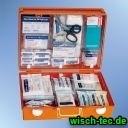 Betriebsverbandskasten nach DIN 13169 mit Füllung und detektierbaren Pflastern