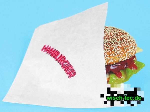 Hamburgerbeutel 16 x 16 cm gebl. Kraftpapier 2000 Stück