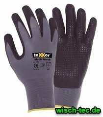 Nylon - Strickhandschuh Black Touch Größe L
