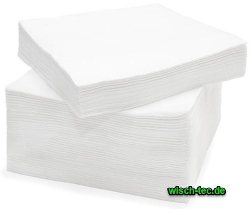 Prägeservietten 1-lagig 33 x 33 cm 1/4 Falz 500 Stück