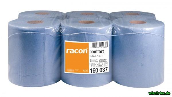 Handtuchrolle Blau Innenabwicklung racon 20 x 36 cm, 450 Blatt, 6er Pack