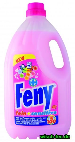 Waschmittel flüssig Feny fein + sensitive 4 Liter