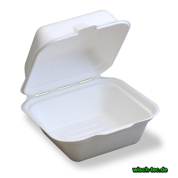 Hamburgerbox weiß groß 125 Stück
