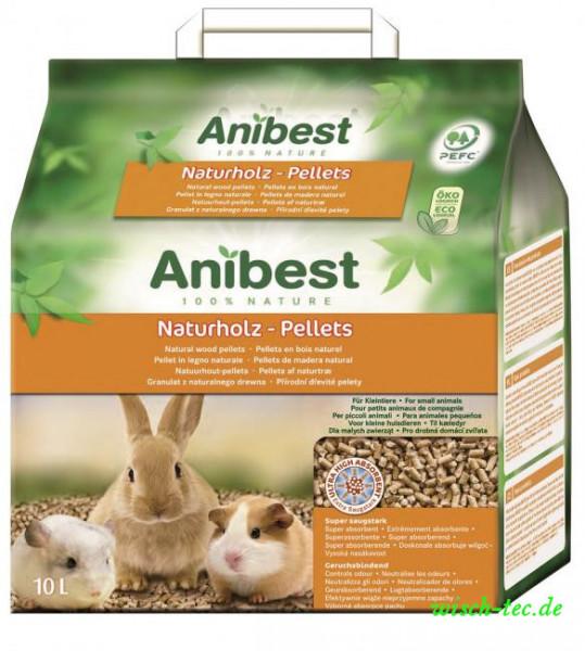 ANIBEST EPN Naturholz-Pellets 10 L