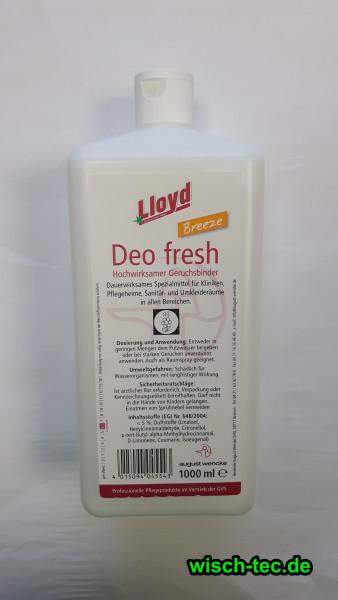 Geruchsbinder Lloyd Deo Fresh breeze 1 Liter