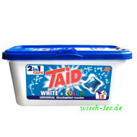 Waschmittel 2in1 Caps TAID Universal white + color