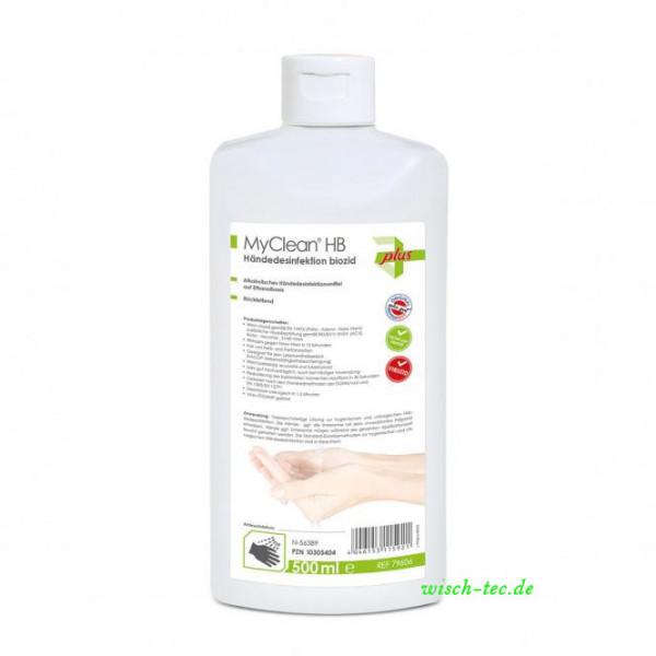 Händedesinfektion My Clean biozid 500 ml